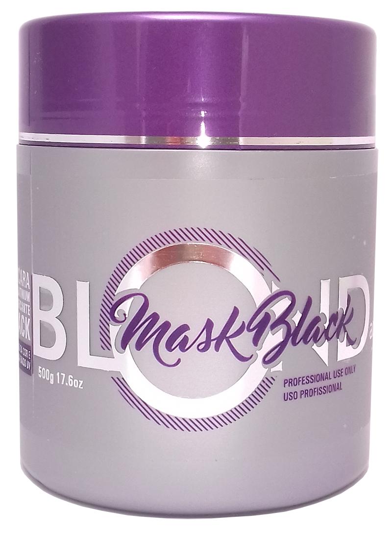 adele liss mascara matizadora cabelo platinado blond mask black