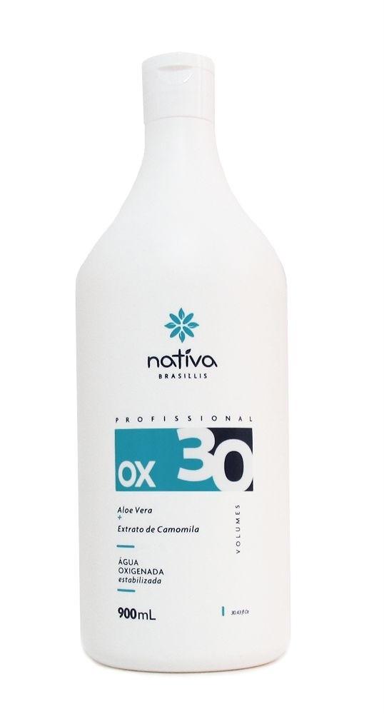 água oxigenada 30 volumes nativa
