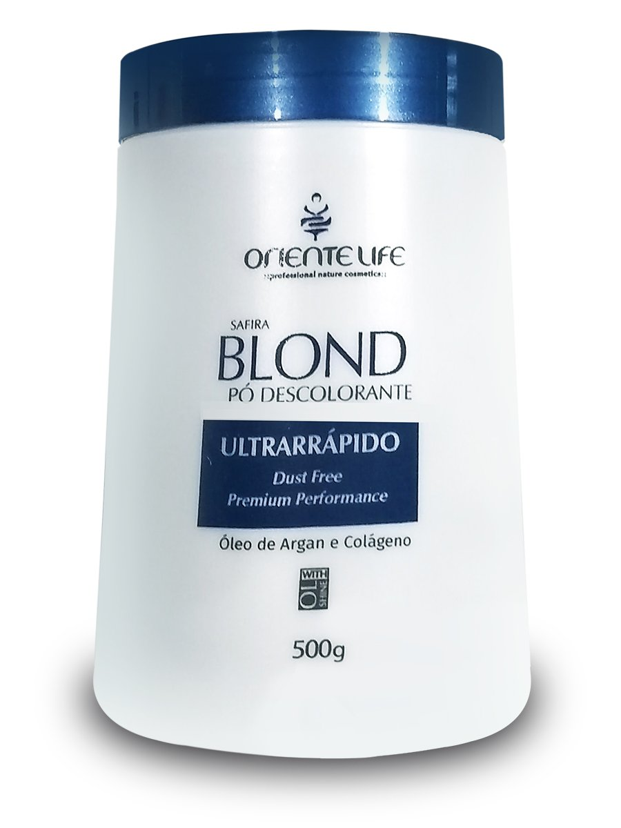 po descolorante oriente life safira blond