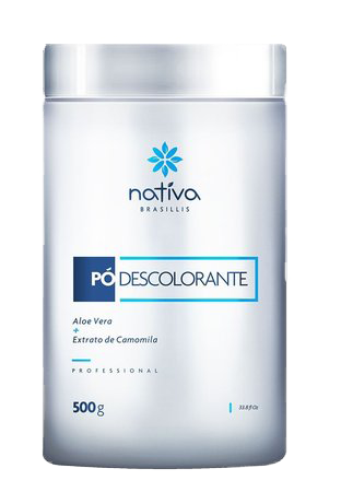 pó descolorante nativa