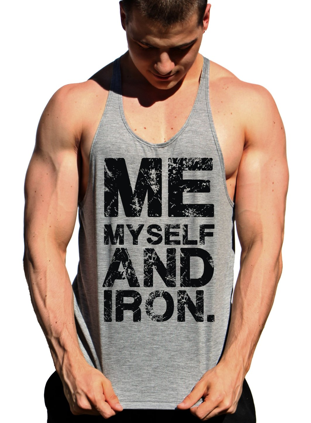 regata cavada masculina para treino me my self and iron