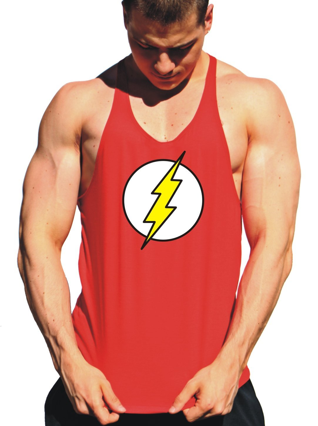 regata cavada masculina de super heroi the flash