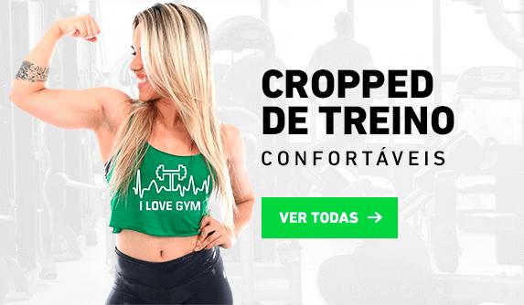 Regatas Feminina de treino · Regata Top Cropped Feminino fb4de1c170a