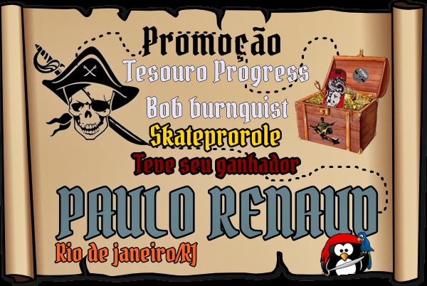 Ganhador da Promoção  - Paulo renaud