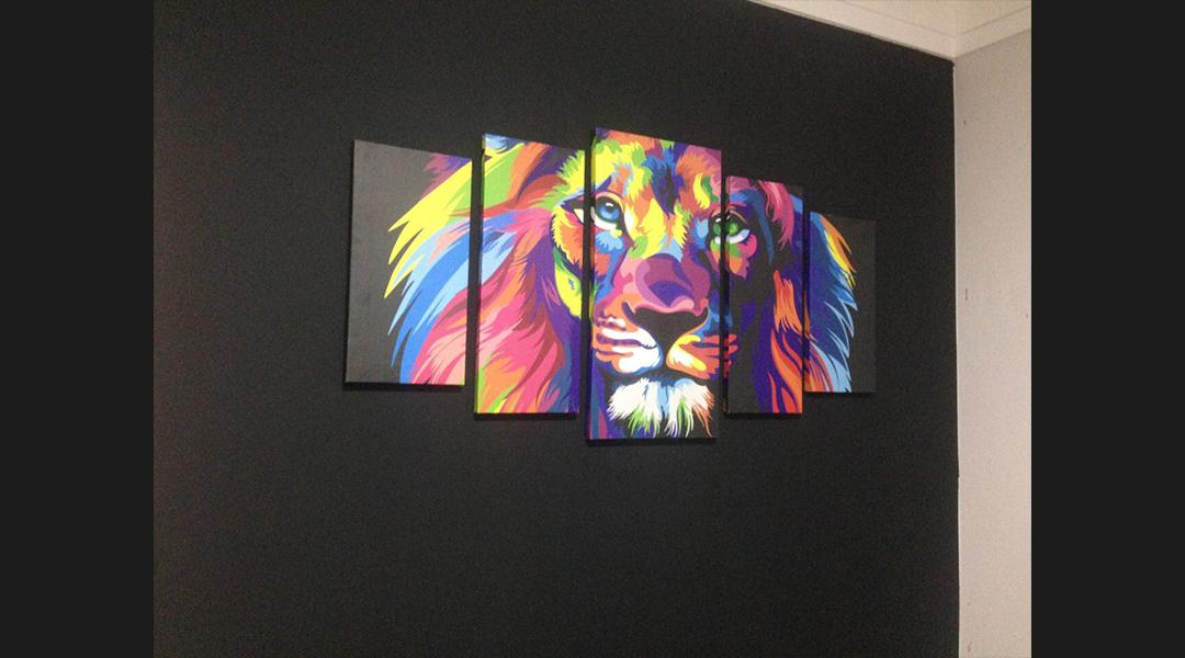 Quadros leão