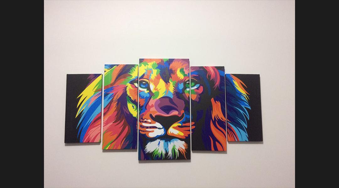 Quadros de leão