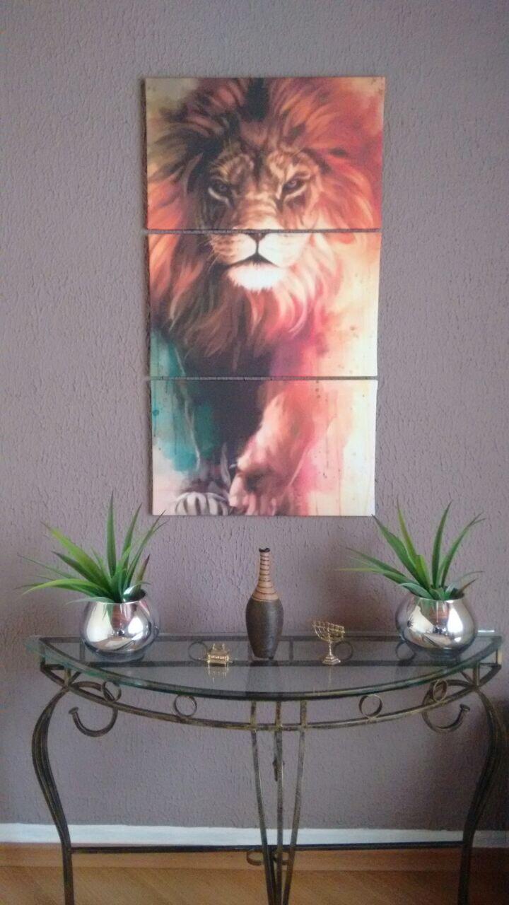 Quadro de leão