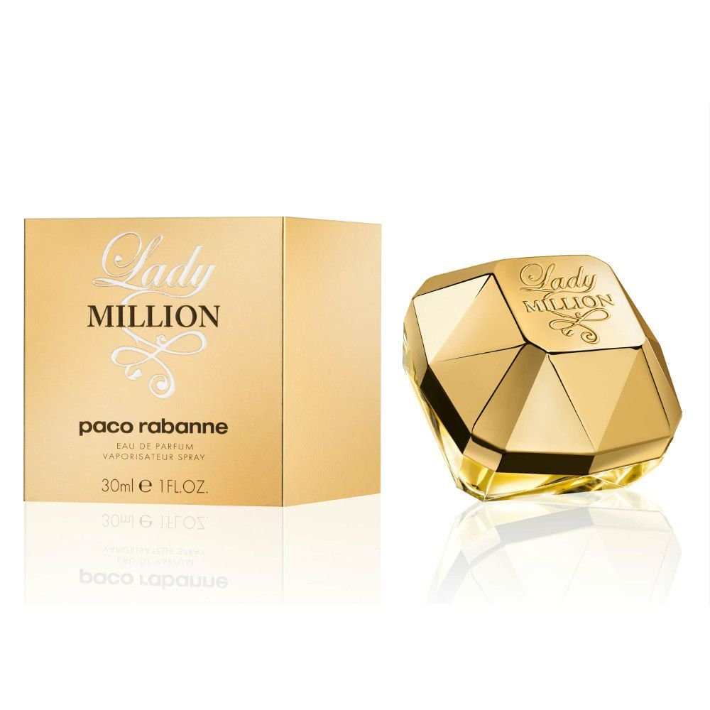 287b0b90c15dd Paco Rabanne Lady Million Eau de Parfum 30ml - Flowers Perfumarias ...