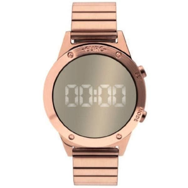 b2bb3e7d2de05 ... Relogio Euro Feminino Fashion Fit Eujhs31bac 4d Rose Digital - Imagem 5