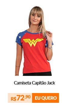 Camiseta Raglan - Wonder Woman Costume