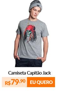 Camiseta Masculina - Capitão Jack