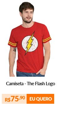 Camiseta Athletic - The Flash Logo