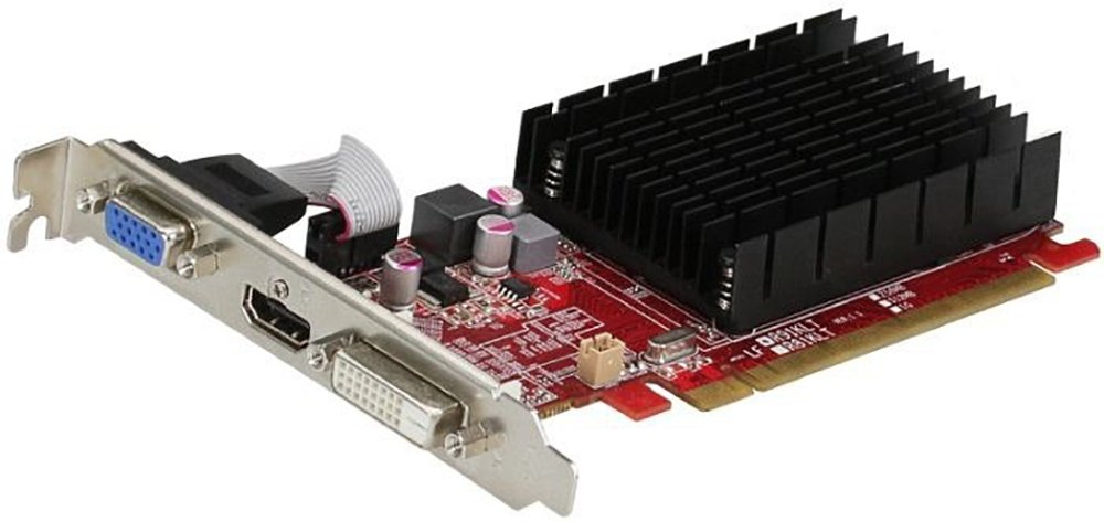 Yes Shop - Placa de Video PowerColor Radeon R5 230 2GB DDR3 64bITS