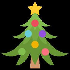 Emoji Árvore de Natal