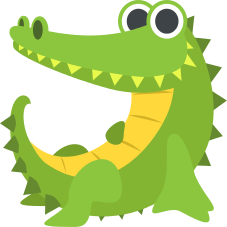 Emoji Crocodilo