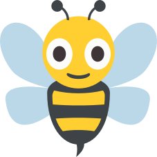 Emoji Abelha