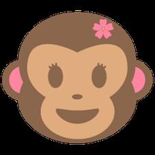 Emoji Macaquinha