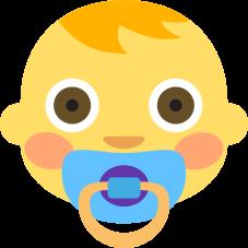 Emoji Bebê