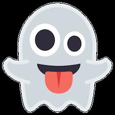 Emoji Fantasminha