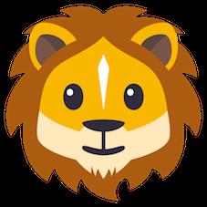 Emoji Leão