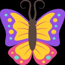 Emoji Borboleta