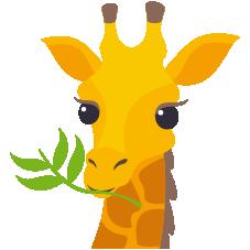 Emoji Girafa