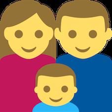 Emoji Família