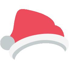 Emoji Papai Noel