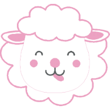 Desenho Ovelha Rosa