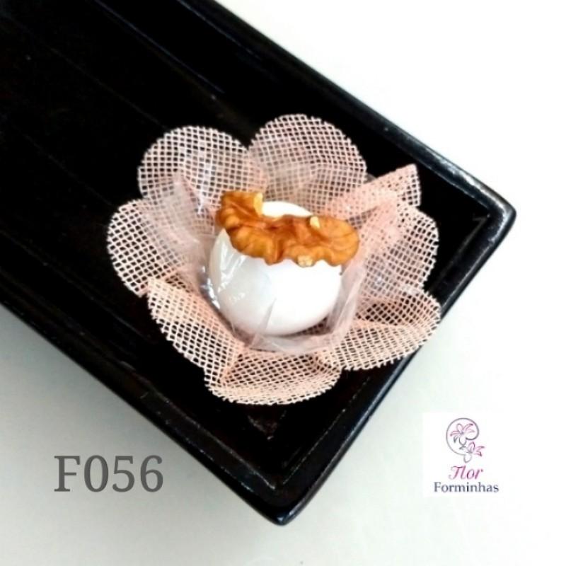 Flor 4 Corações F056