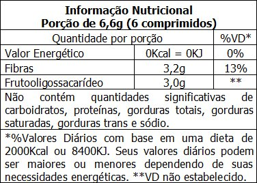 Florazen - Informação Nutricional