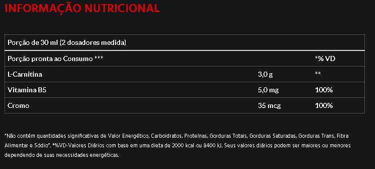 L-Carnitina com Picolinato de Cromo Atlhetica Nutrition