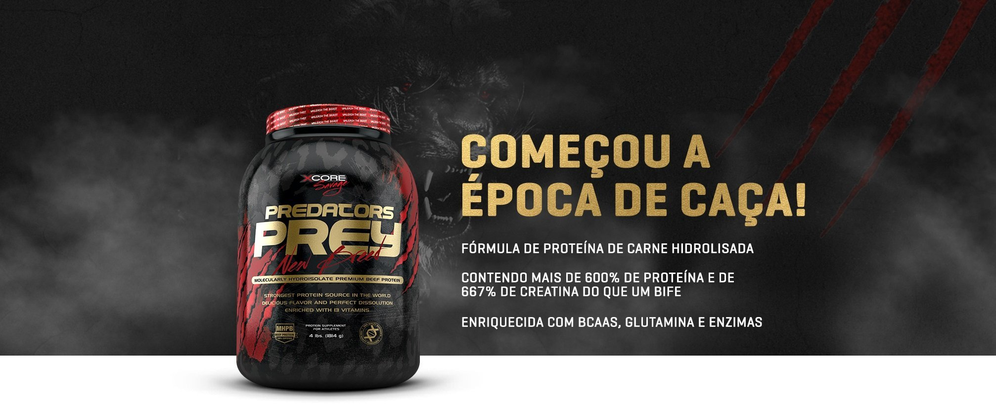 Predators Prey Xcore Nutrition
