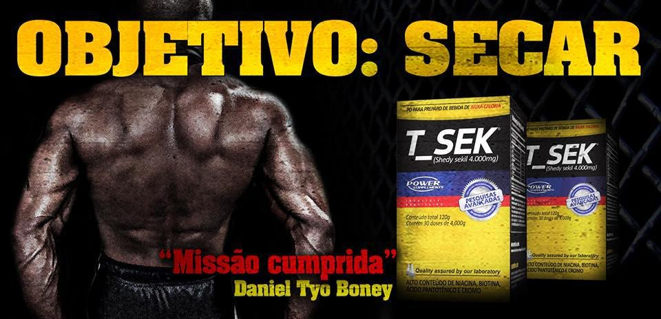 T_Sek Power Supplements - Suplemento Diurético