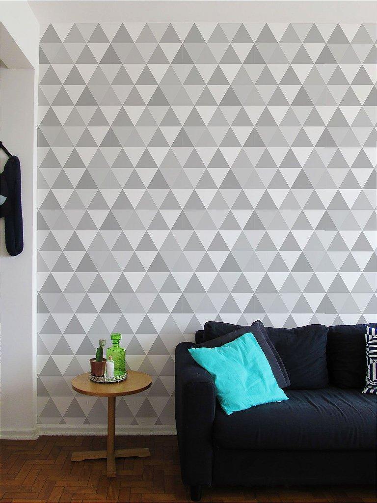 Papel de parede Adesivo triângulos