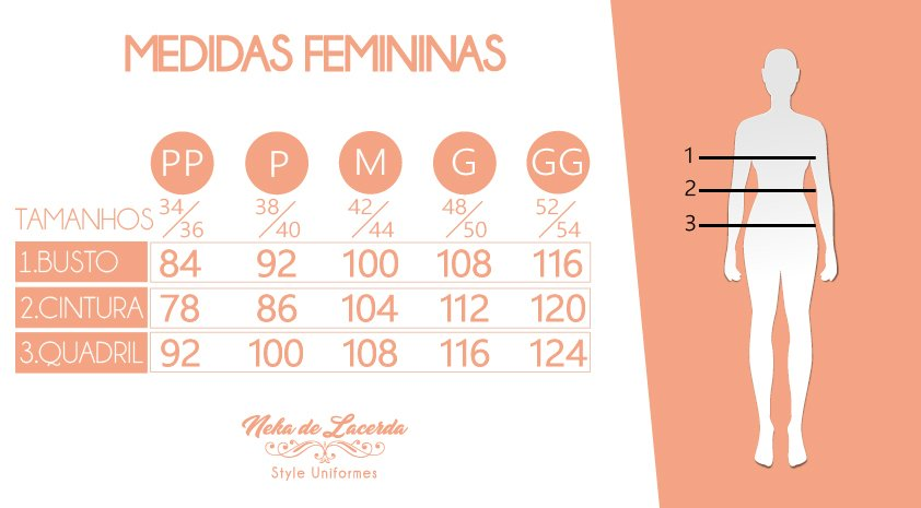 Medidas Feminina.