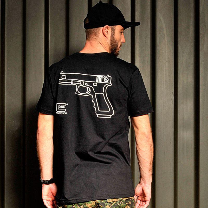 ab2d91196 Camiseta estampada glock perfection Branca Bravo - Preço baixo é na ...