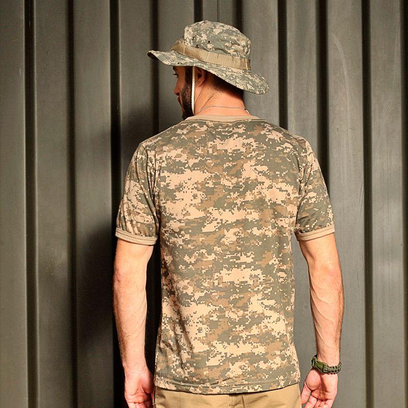 Camiseta Bravo militar camuflada digital army combat - Black militar ... 11cce31cac0