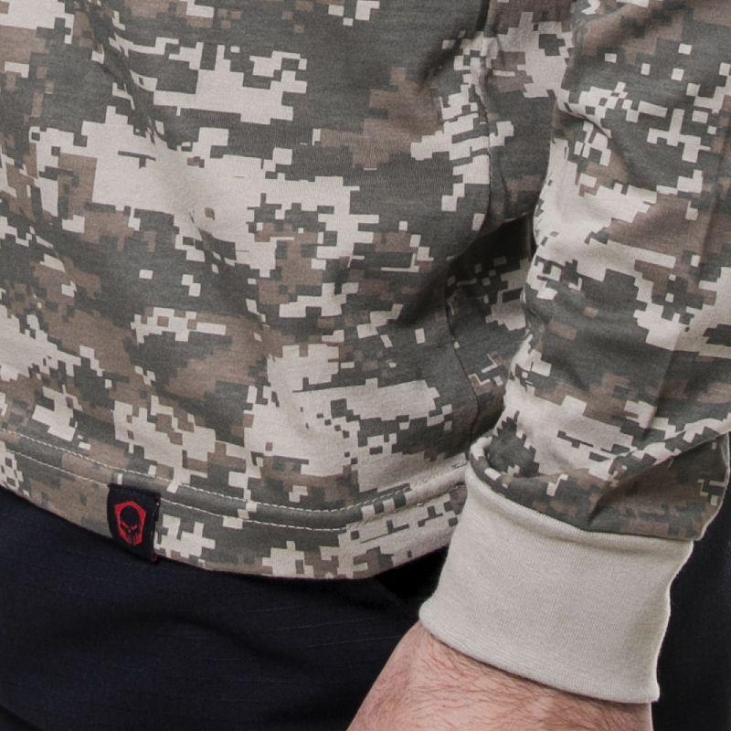 Camiseta Manga longa Bravo militar camuflada digital army combat ... 31246d968c9