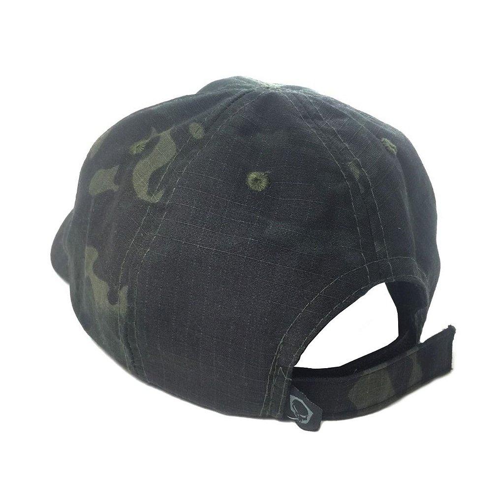... Boné tático camuflado Bravo - Multicam Black - Imagem 3 2b8b2668c5f