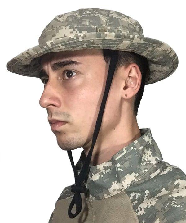 6e24d1c85fc9f ... Chapéu Boonie Hat camuflado Bravo - Digital areia - Imagem 2