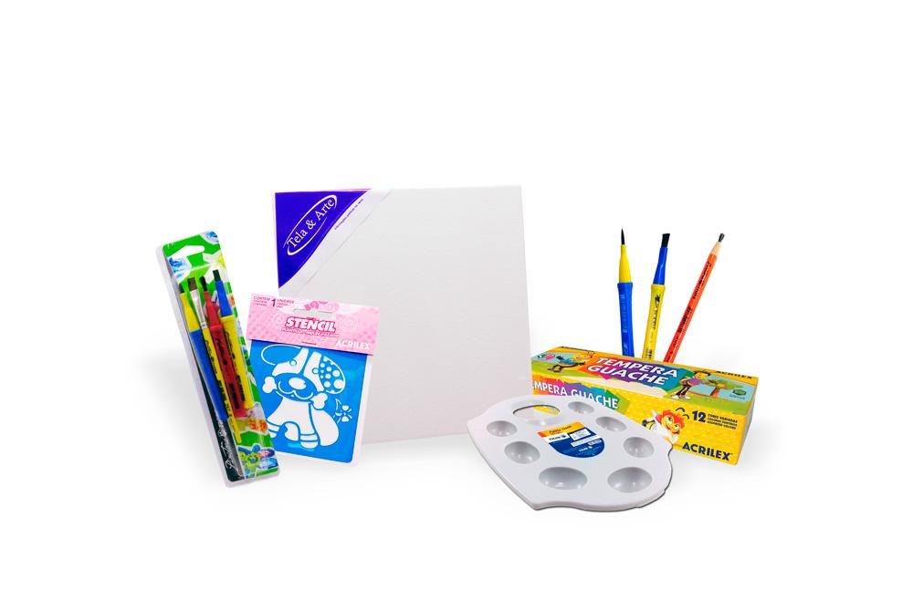 Acesse aqui o kit básico para pintura
