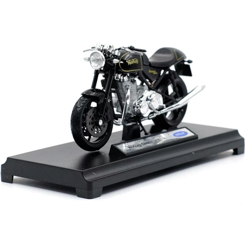 Miniatura Norton Commando 961 SE 2010 Welly 1:18
