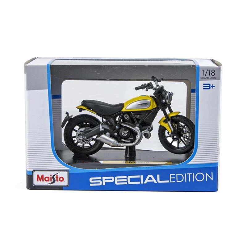 Miniatura Ducati Scrambler 2015 Maisto 1:18