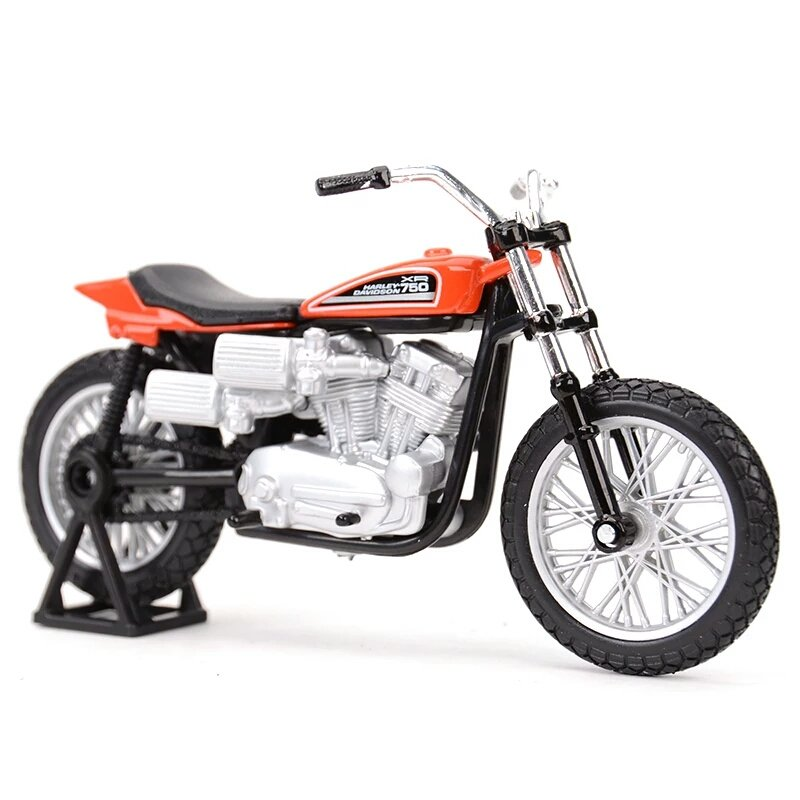 Miniatura Harley Davidson XR750 Racing Bike 1972 Maisto 1:18