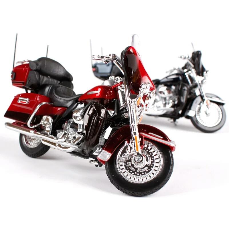 Miniatura Harley Davidson FLHTK Electra Glide Ultra Limited 2013 Maisto 1:18