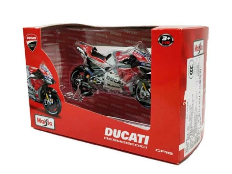 Miniatura Ducati MotoGP Andrea Dovizioso 2018 Maisto 1:18