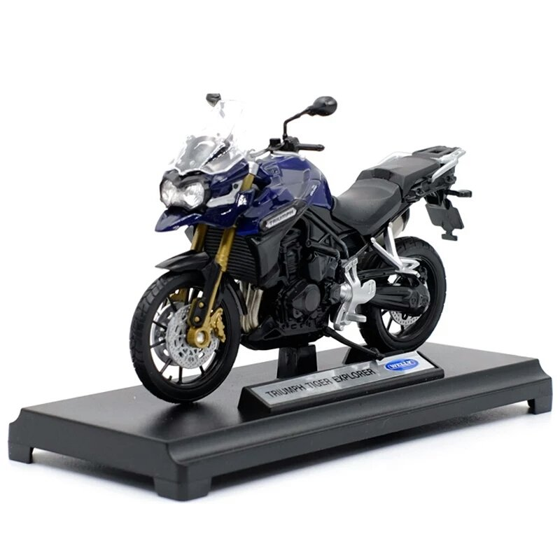 Miniatura Triumph Tiger Explorer 2012 Welly 1:18