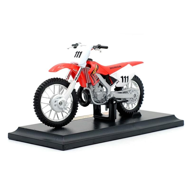 Miniatura Honda CRF 450R Maisto 1:18