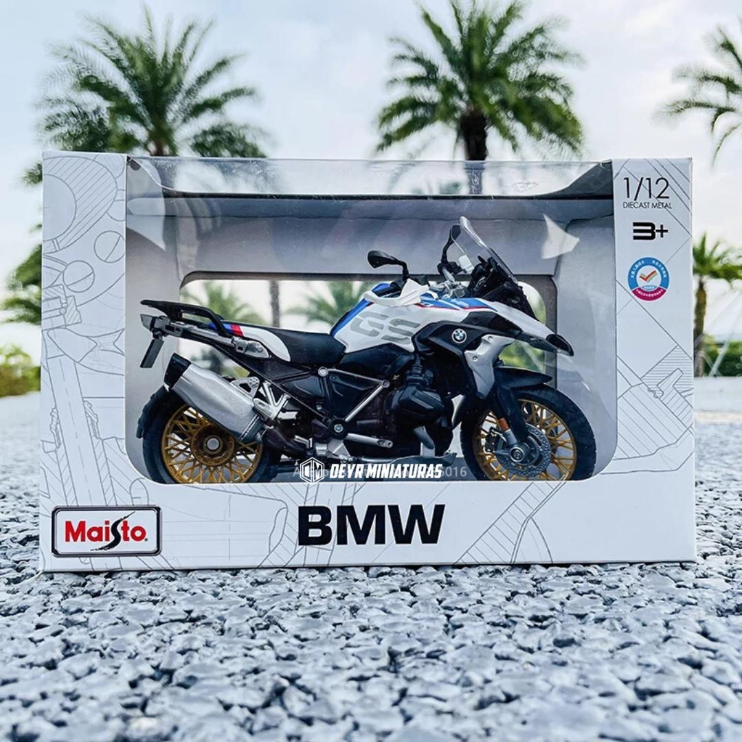 Miniatura BMW R 1250 GS maisto 1:12